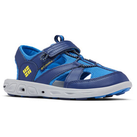 Columbia Techsun Wave Chaussures Enfant, cousteau/deep yellow